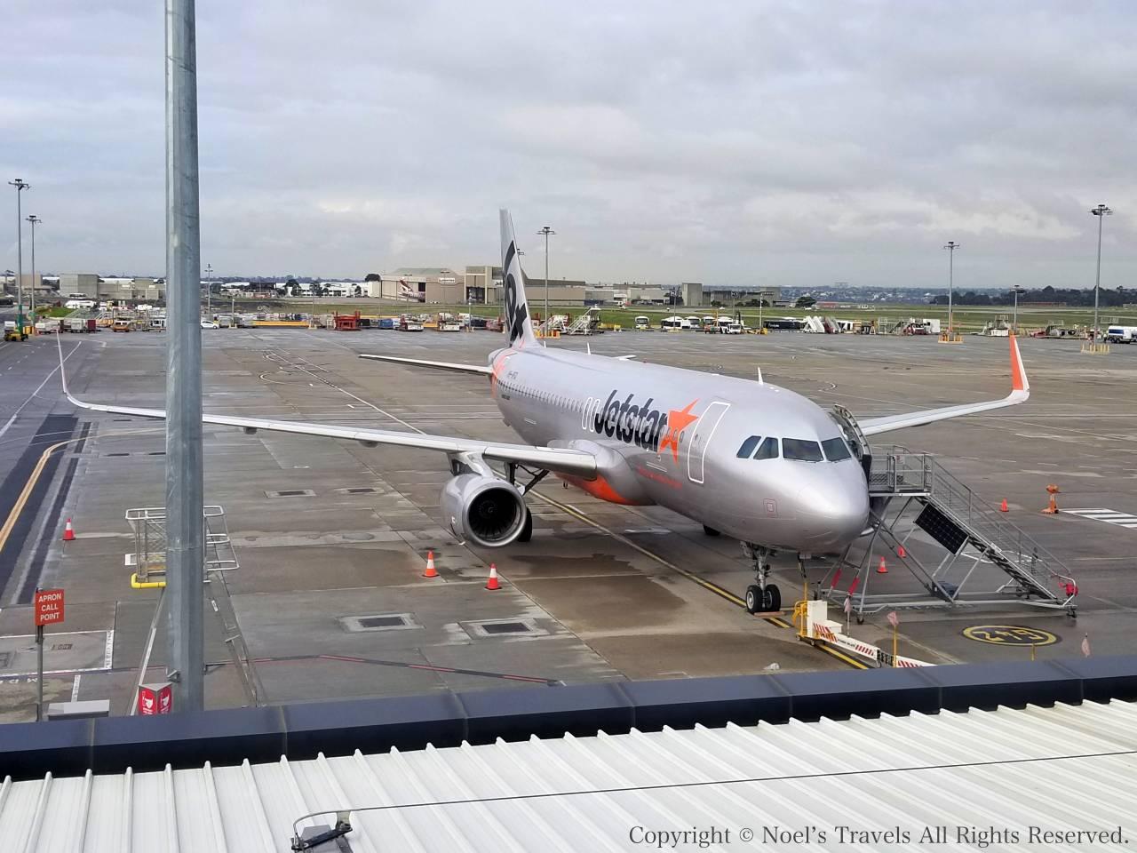 ジェットスター航空の機体