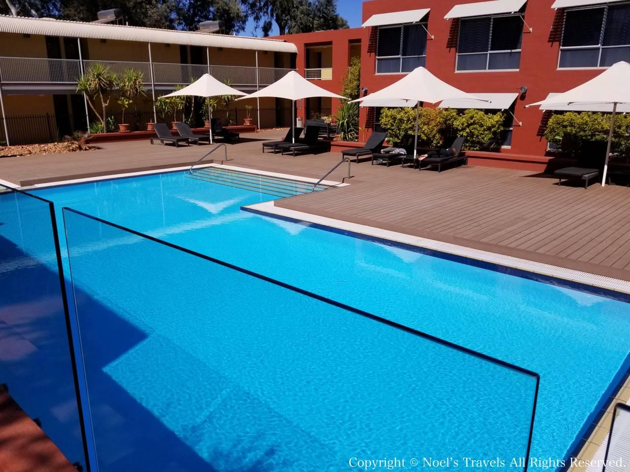 ザ・ロスト・キャメル・ホテルのプール