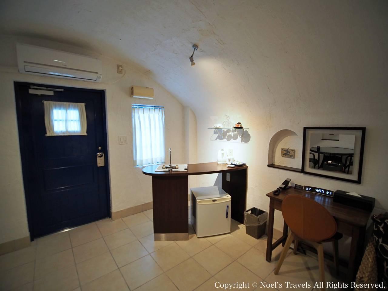 ヴィラ・サントリーニの客室