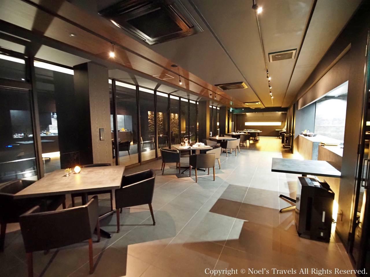 ヴィラ・サントリーニのレストラン「logue」